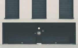 isolation de porte de garage