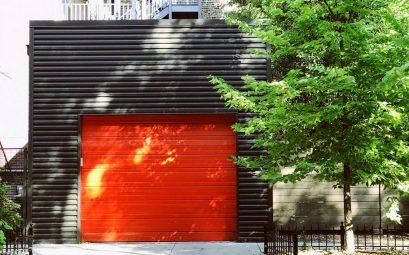 installation de digicode sur une porte de garage